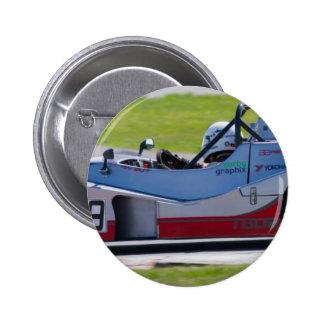 Solo coche de carreras de plata del seater pin