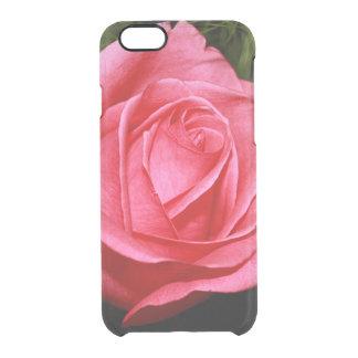 Solo color de rosa rosado funda clearly™ deflector para iPhone 6 de uncommon