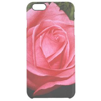 Solo color de rosa rosado funda clearly™ deflector para iPhone 6 plus de unc