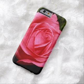 Solo color de rosa rosado funda para iPhone 6 barely there