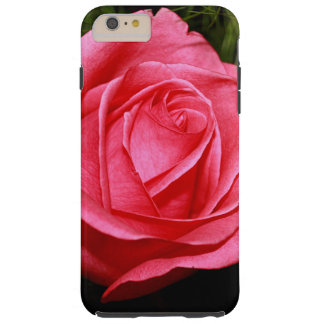 Solo color de rosa rosado funda para iPhone 6 plus tough