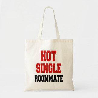 Solo compañero de cuarto caliente bolsa tela barata
