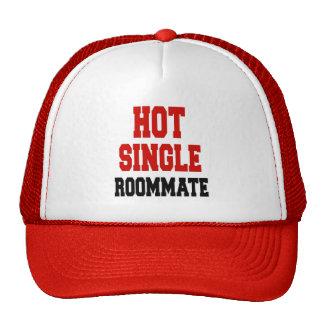 Solo compañero de cuarto caliente gorra