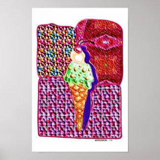 solo cono de helado 1 posters