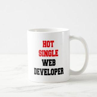 Solo desarrollador de Web caliente Taza