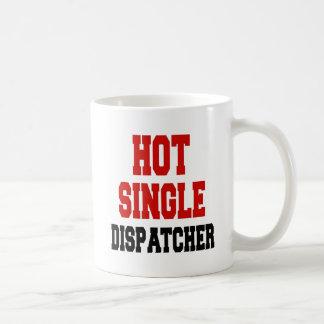 Solo despachador caliente taza de café