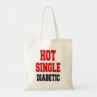 Solo diabético caliente bolsa tela barata