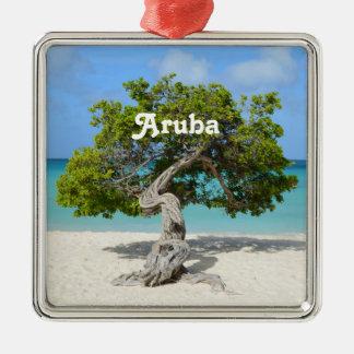 Solo Divi Divi Tree in Aruba Metal Ornament
