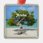 Solo Divi Divi Tree in Aruba Christmas Tree Ornament