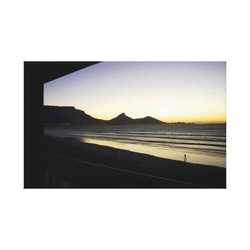 Solo en Cape Town Impresión En Lienzo