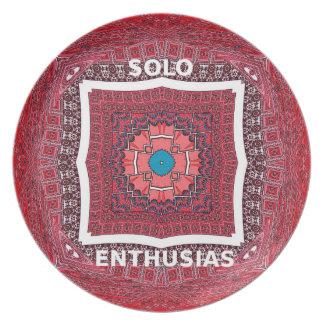 Solo Enthusiasm Melamine Plate