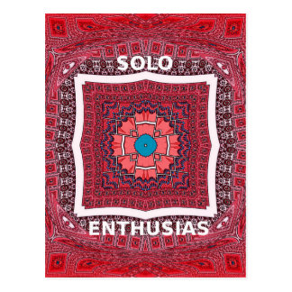 Solo Enthusiasm Postcard