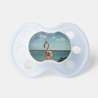 Solo flamingo custom baby pacifiers pacifiers
