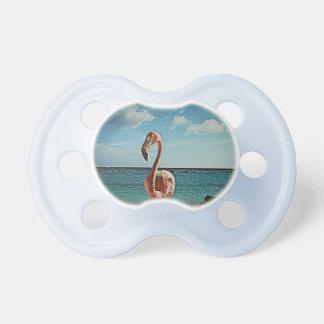 Solo Flamingo Vintage Pacifier