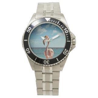 Solo flamingo vintage photo HFPHOT71 Wristwatches