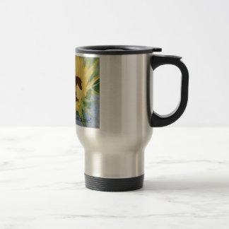 ¡solo girasol, sol de la buena mañana! taza de café
