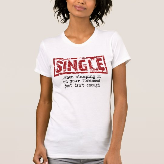 Solo Girl (Fitted White/Slogan) T-Shirt