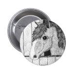 Solo Horse Art Pin