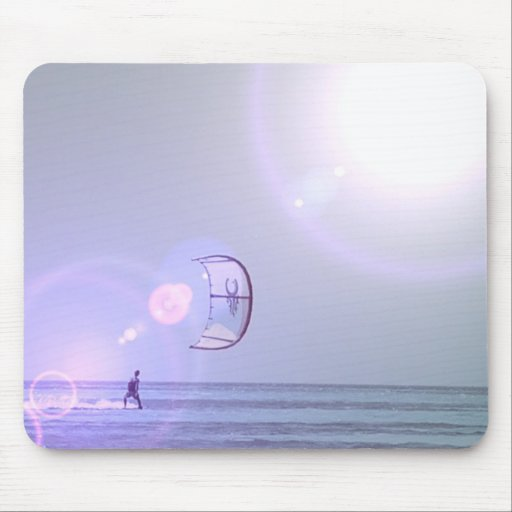 Solo Kiteboard Mouse Pad