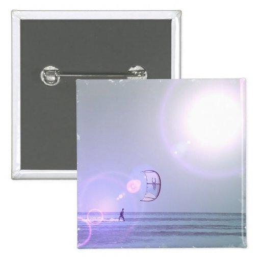 Solo Kiteboard  Pin