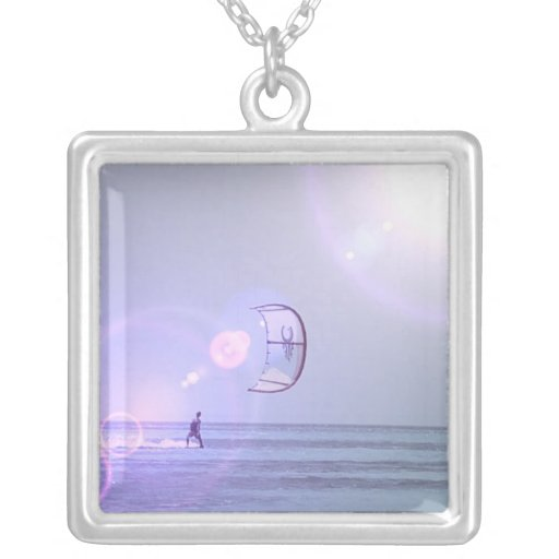 Solo Kiteboarder  Necklace