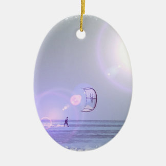 Solo Kiteboarder  Ornament