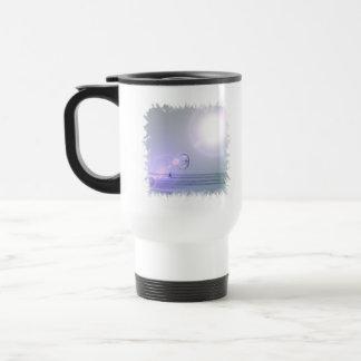 Solo Kiteboarder  Plastic Travel Mug