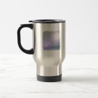 Solo Kiteboarder  Travel Mug