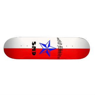 Solo Mission Patriotic Board Skate Board