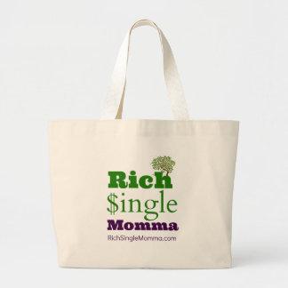 Solo Momma rico Bolsa Tela Grande