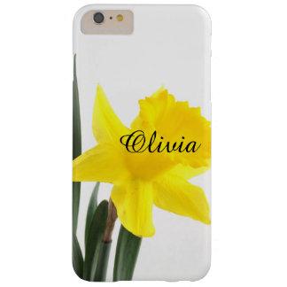 Solo narciso amarillo del narciso funda barely there iPhone 6 plus