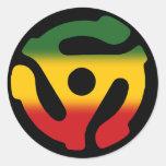 Solo pegatina del reggae de registro del adaptador