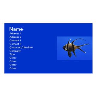 solo-pescado-en-acuario plantilla de tarjeta de visita