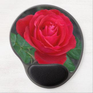 Solo rosa rojo alfombrilla con gel