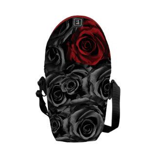 Solo rosa rojo bolsas messenger