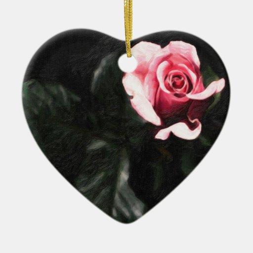 solo rose.jpg rosado adorno de navidad