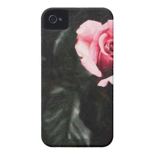 solo rose.jpg rosado iPhone 4 protectores