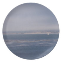 Solo Sail in Monterey Bay Plate