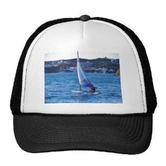 Solo Sailing Dinghy Trucker Hat