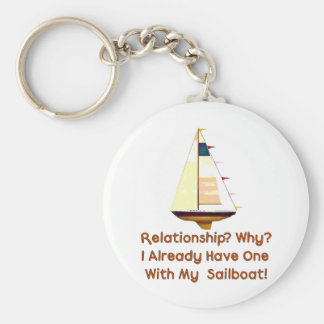 Solo Sailing Keychain