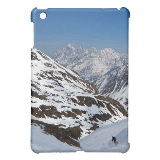 Solo Skier/Alpine Ski Resort, Alps Austria Cover For The iPad Mini