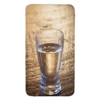 Solo tiro del Tequila en la tabla de madera Bolsillo Para Galaxy S4