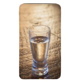 Solo tiro del Tequila en la tabla de madera Funda Acolchada Para Galaxy S5
