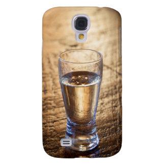 Solo tiro del Tequila en la tabla de madera Funda Para Galaxy S4