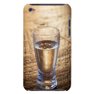 Solo tiro del Tequila en la tabla de madera iPod Touch Protectores