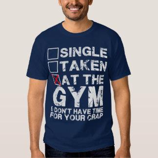 Solo, tomado, en el gimnasio - camisa para los