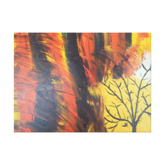 Solo Tree Canvas Print