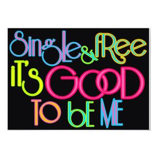 Solo y libre invitación