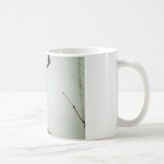 Solo Yellow Bird on Branch Coffee Mug