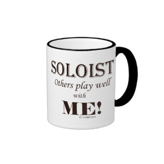 Soloist, Others Play Well With Me! Ringer Coffee Mug